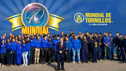 Efrén Cardona celebra los 40 años de Mundial de Tornillos