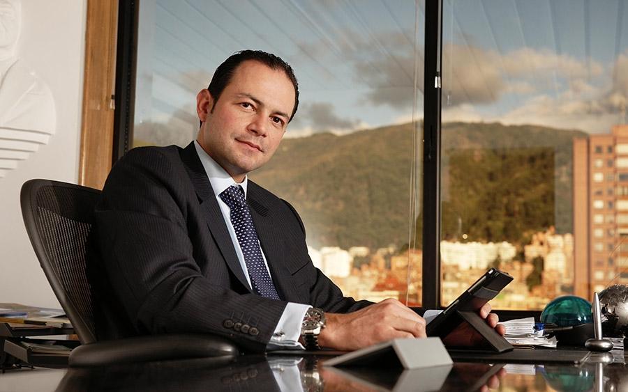 Luis Aurelio Díaz, Gerente del Grupo Empresarial OIKOS